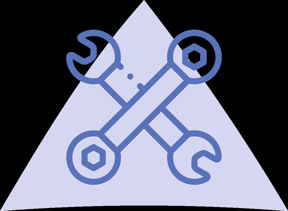 Tekniset palvelut ikoni